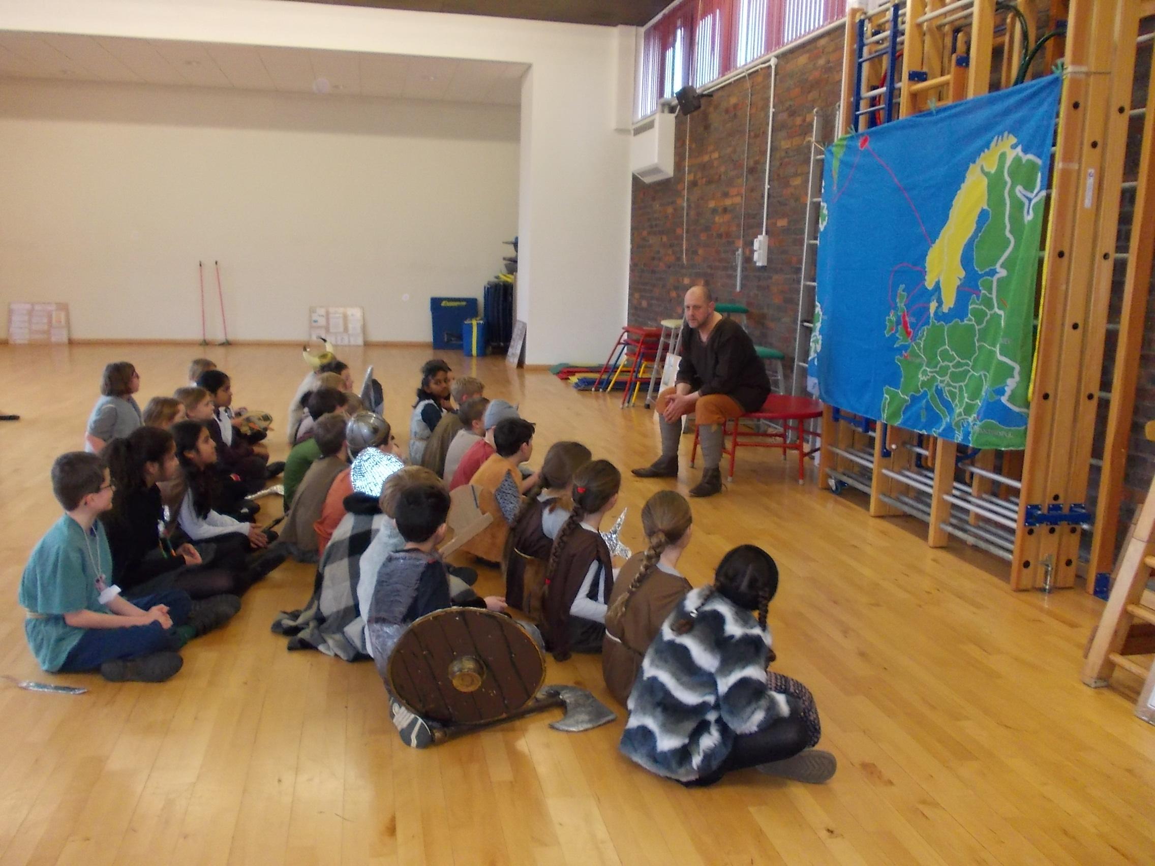 Viking fun in Willow Class